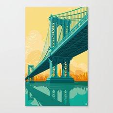Manhattan Bridge NYC Canvas Print