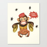 Magic Monkey Canvas Print