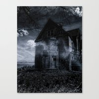 house on the edge Canvas Print