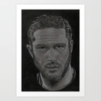 Tom Hardy Art Print