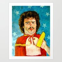 Get That Corn Out Of My … Art Print