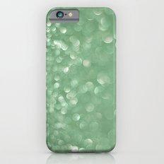 Seafoam bokeh Slim Case iPhone 6s