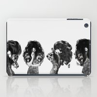 Lions And Bears Party iPad Case