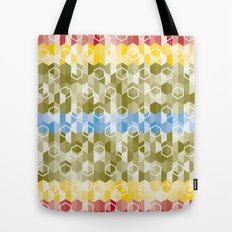 Hexagon pattern Tote Bag