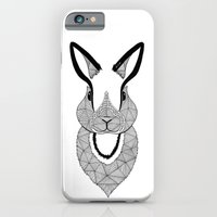 rabbit iPhone & iPod Cases featuring Rabbit by Art & Be