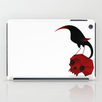 Bird And Skull iPad Case