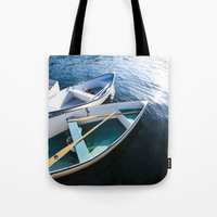 Winter Harbor Dory - Mai… Tote Bag