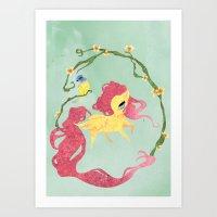 Fluttershy Art Print