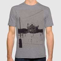 The House Mens Fitted Tee Athletic Grey SMALL
