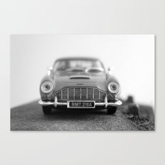 James Bond - Aston Martin Canvas Print