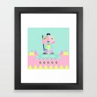 Our lovely pets -3 Shere Khan Framed Art Print