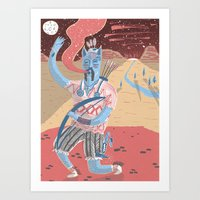 Gods And Monsters #1 The… Art Print