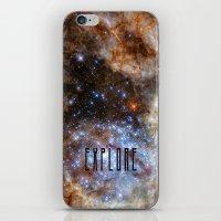 Explore - Space iPhone & iPod Skin