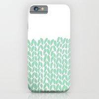 Half Knit Mint iPhone 6 Slim Case