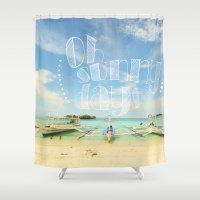 Oh Sunny Days Shower Curtain