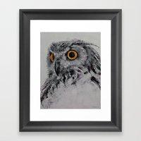 Spirit Owl Framed Art Print