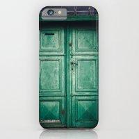 Green old door iPhone 6 Slim Case