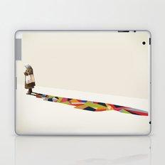 Walking Shadow, Old Lady Laptop & iPad Skin