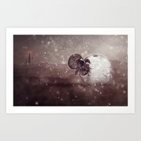 Harsh Conditions Art Print