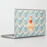 anchor Laptop & iPad Skins featuring Sailor by Seaside Spirit
