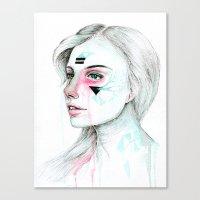 Woman Viii. Canvas Print