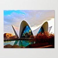 Aquarium: Valencia, Spai… Canvas Print