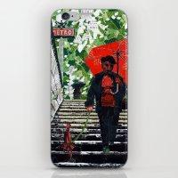 iPhone & iPod Skin featuring Metro (Métro) by Anastassia Elias