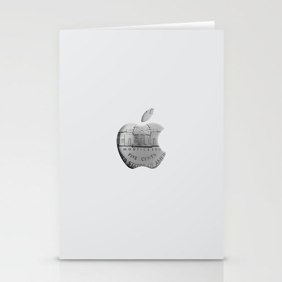 Apple Stationery Card