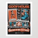 Goofhouse Double Feature: Planet Error + Ouch Proof Art Print