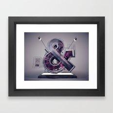Ampersand_139 Framed Art Print