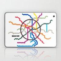 Moscow Metro Map Laptop & iPad Skin