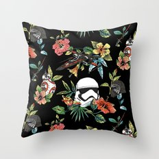 The Floral Awakens Throw Pillow