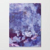 Night Clouds Canvas Print