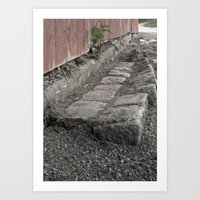Old Road Art Print