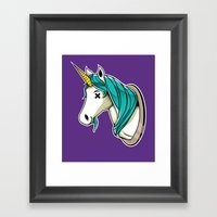 Stuffed Framed Art Print