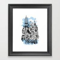 Eden Olympia Framed Art Print