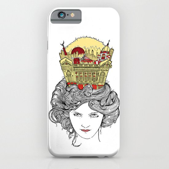 The Queen of Montreal iPhone & iPod Case