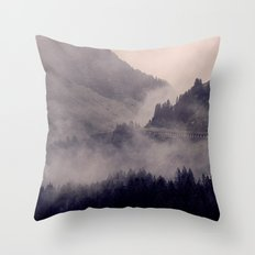 HIDDEN HILLS Throw Pillow
