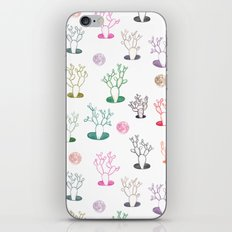 Cacti under the moon iPhone & iPod Skin