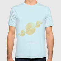 unicorns Mens Fitted Tee Light Blue SMALL