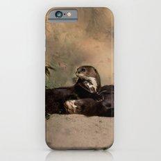 Quiet, Please! He Is Sle… iPhone 6 Slim Case