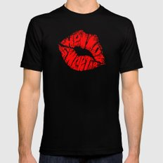 Hello Sweetie Mens Fitted Tee Black SMALL