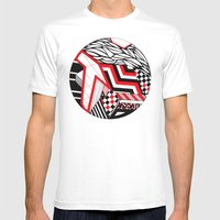 Circle Ii Mens Fitted Tee White SMALL