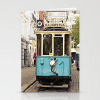 the tram Stationery Cards