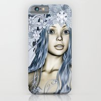 iPhone & iPod Case featuring Snow Maiden by Design Windmill