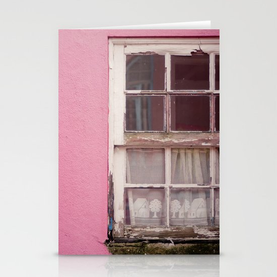 My lonely window Stationery Card