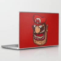 mario Laptop & iPad Skins featuring Mario by Lime