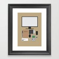 Awesome Stuff. Framed Art Print