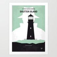 No513 My Shutter Island … Art Print