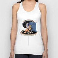 Chillin At The Space Sta… Unisex Tank Top